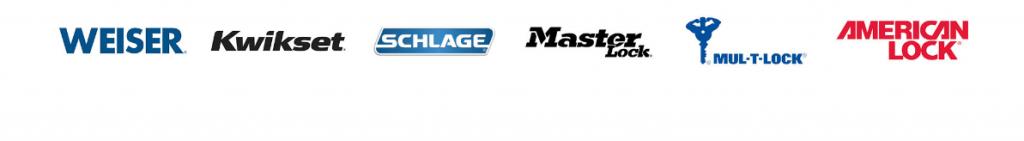Weiser | Kwikset | Schlage | Master Lock | Mul-T-Lock | American Lock