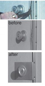 security lock hardware installation